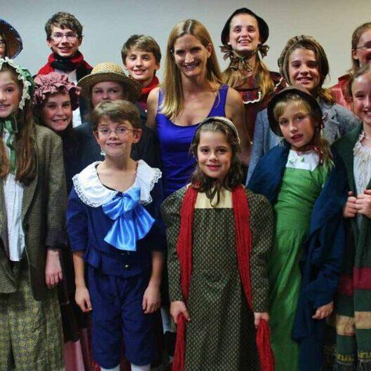 Opera Naples Youth Chorus Group Photo